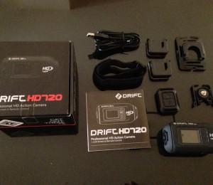 Drift HD720 - Accesorios