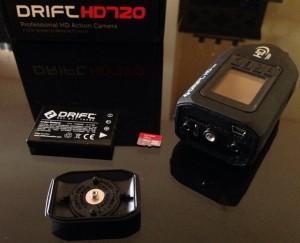 Drift HD720 - Parte trasera