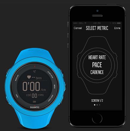 Suunto Movescount App - Configuración del reloj