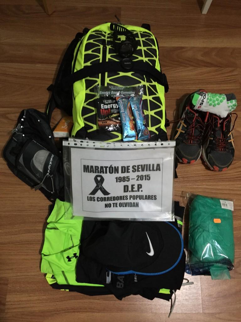 Preparativos antes de la carrera