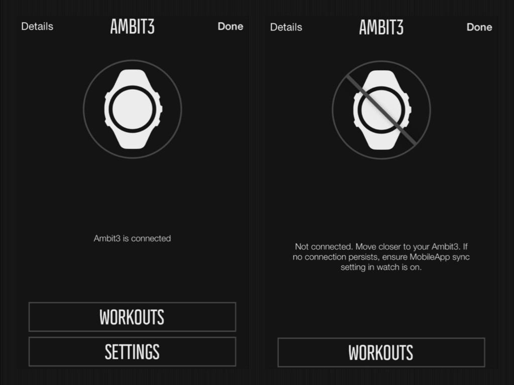 Planificar entrenamiento con o sin reloj conectado al móvil