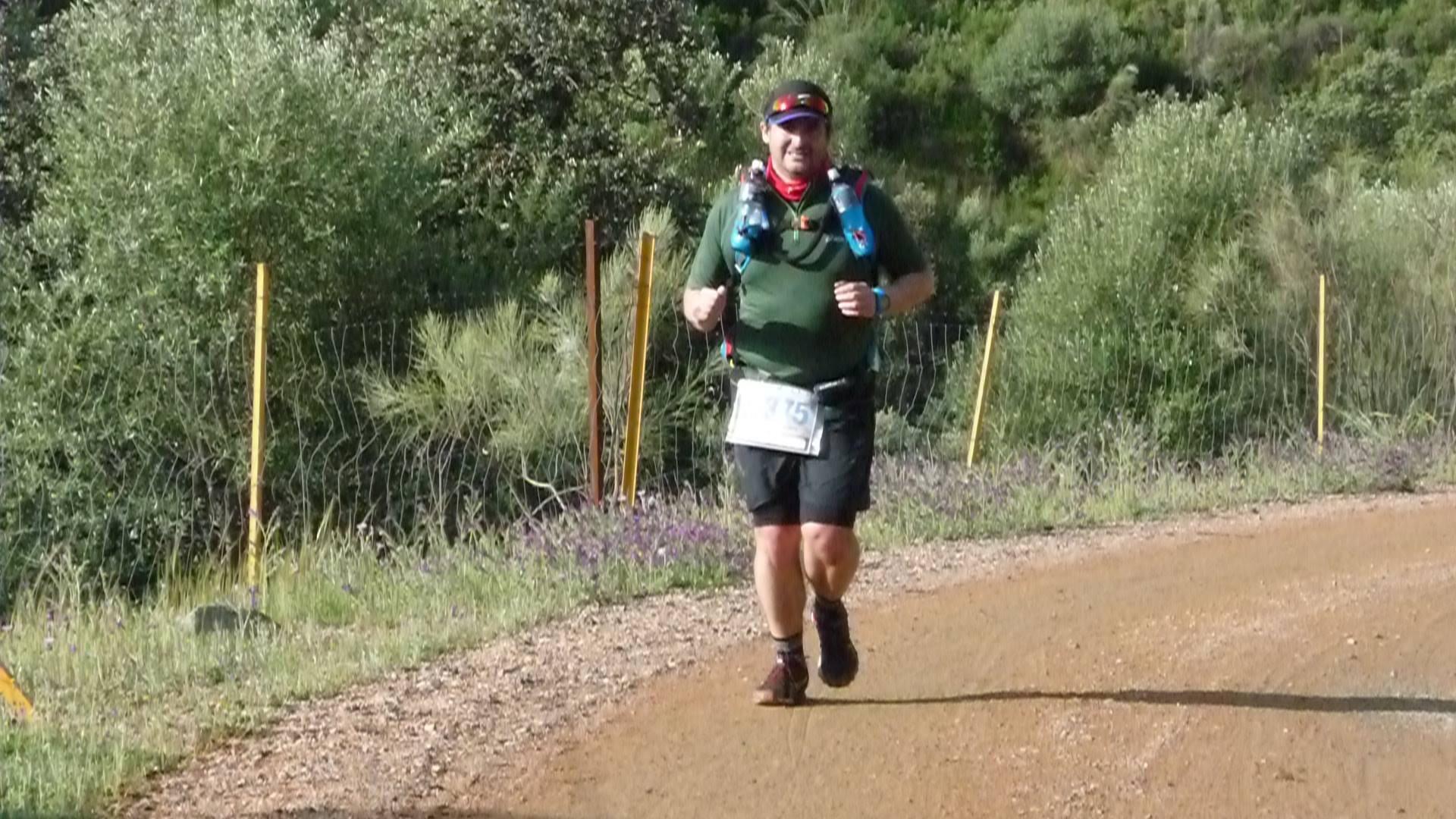 Llegando al avituallamiento 10km (Foto Trail Ruta del Agua)