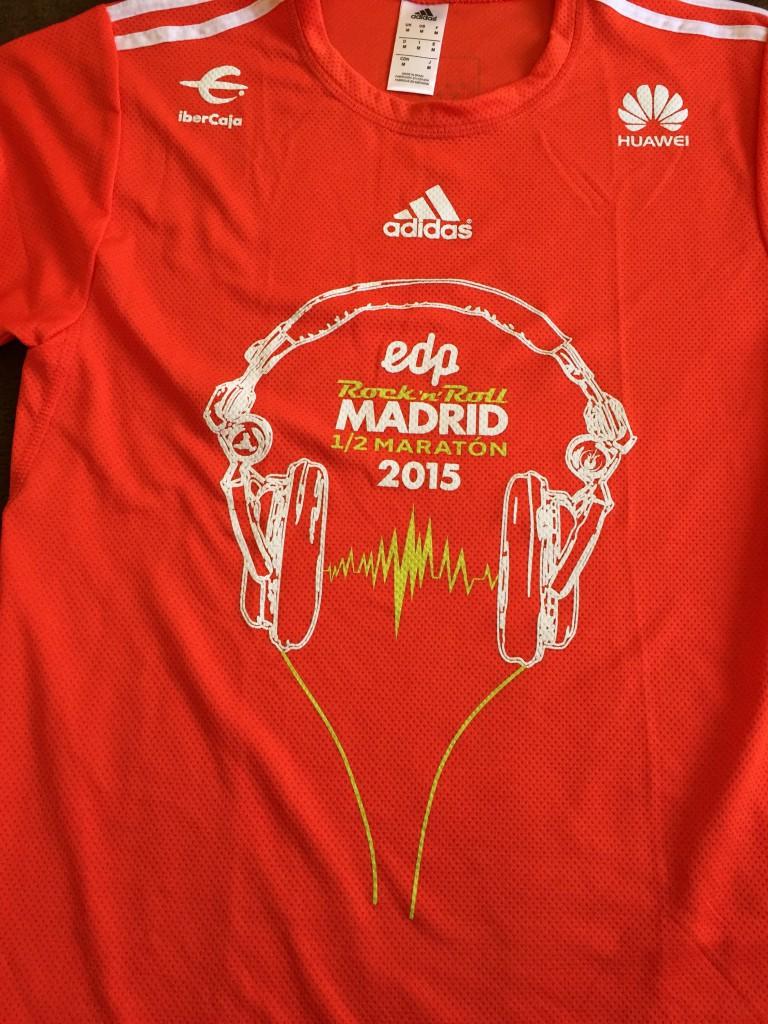 Camiseta de la 1/2 maratón