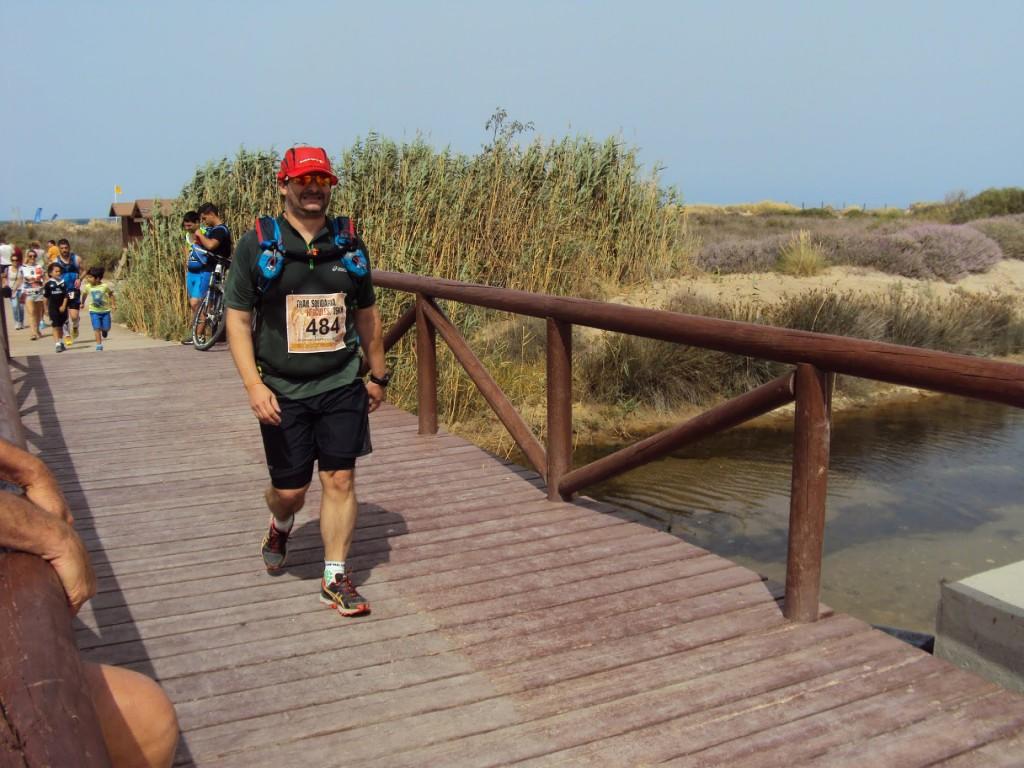 III Trail Hércules - Saliendo de la playa
