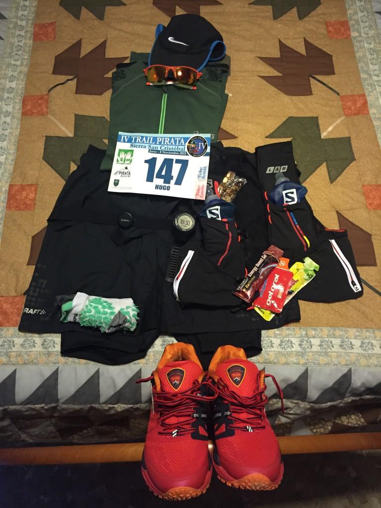 Todo preparado para la carrera