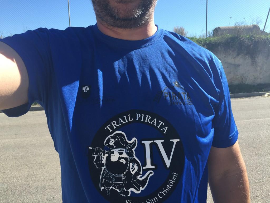 Camiseta del IV Trail Pirata
