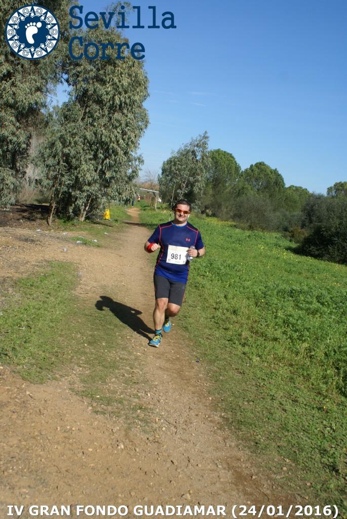 Más de 20km en las piernas (Foto: Sevilla Corre)