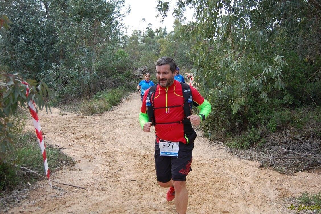 Sufriendo en la carrera (Foto: Antonio Garzón Cordero)