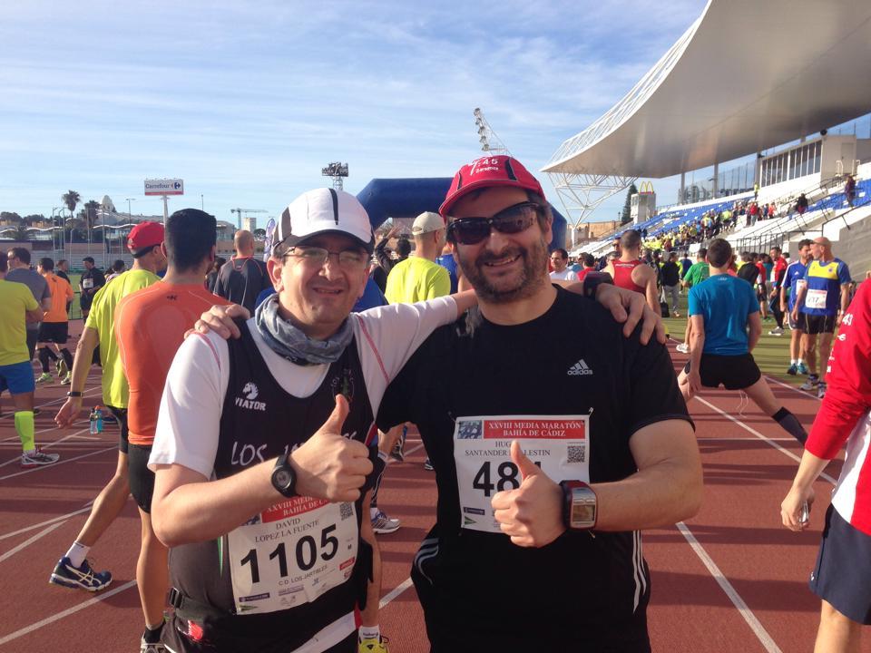 Media Maratón Bahía de Cádiz con David