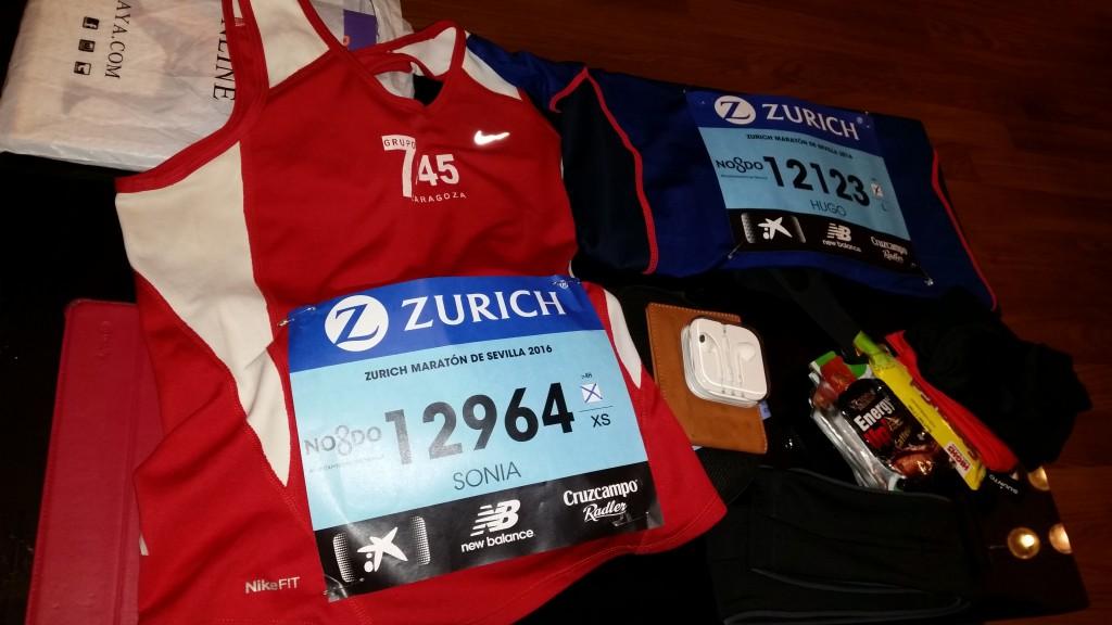 Todo preparado para el maratón