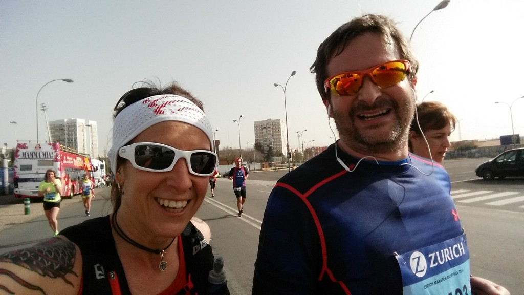 Pasando los 21km