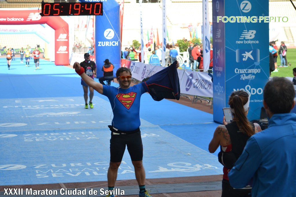Me sentí Superman por ser finisher del maratón (Foto: Footing Pepito)