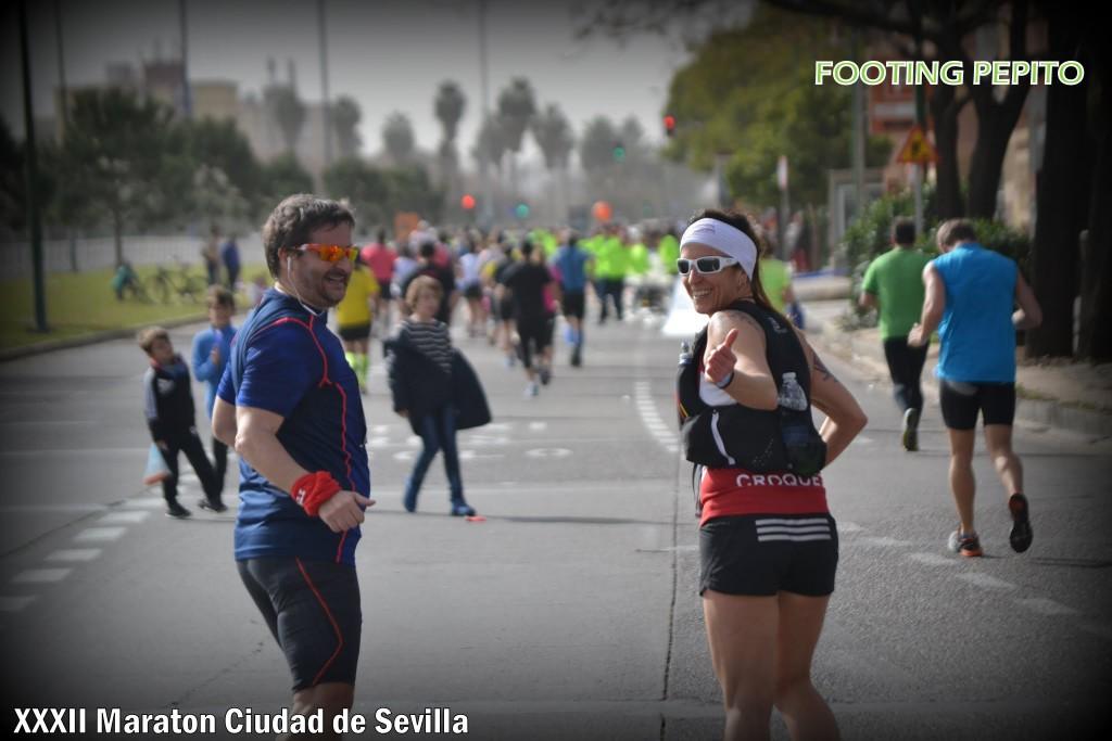 A la altura de CC Los Arcos (22km) (Foto: Footing Pepito)