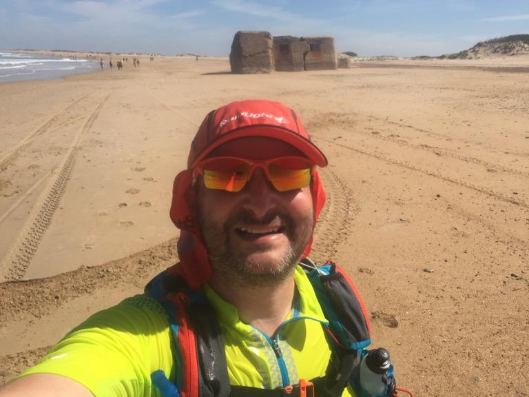 Llegando a la Punta del Boquerón