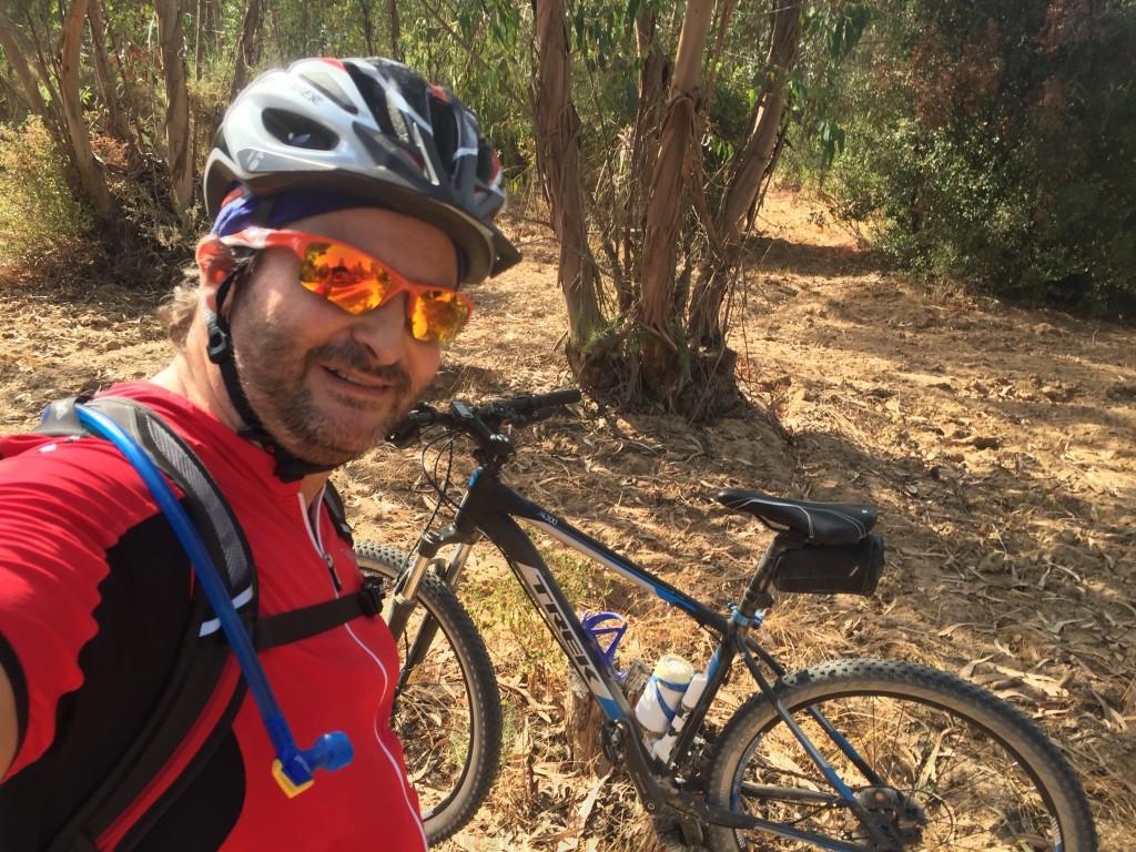 Primera salida larga en bicicleta