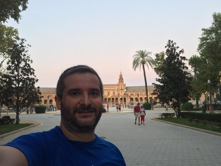 7km por el Parque de María Luisa