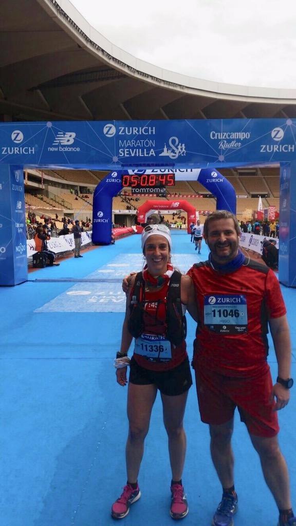 Segundo maratón completado