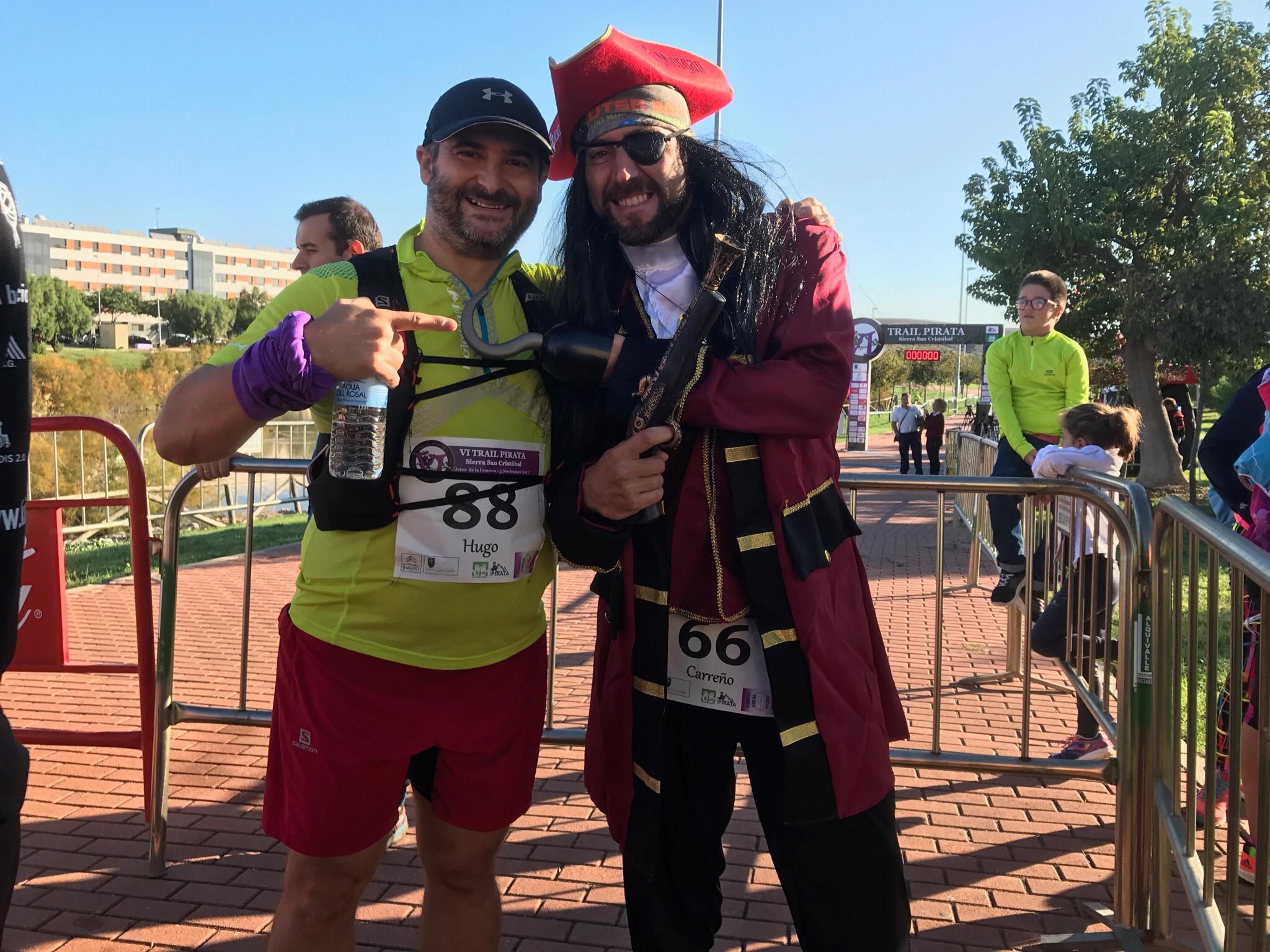 """Con """"el pirata"""" José Miguel Carreño"""
