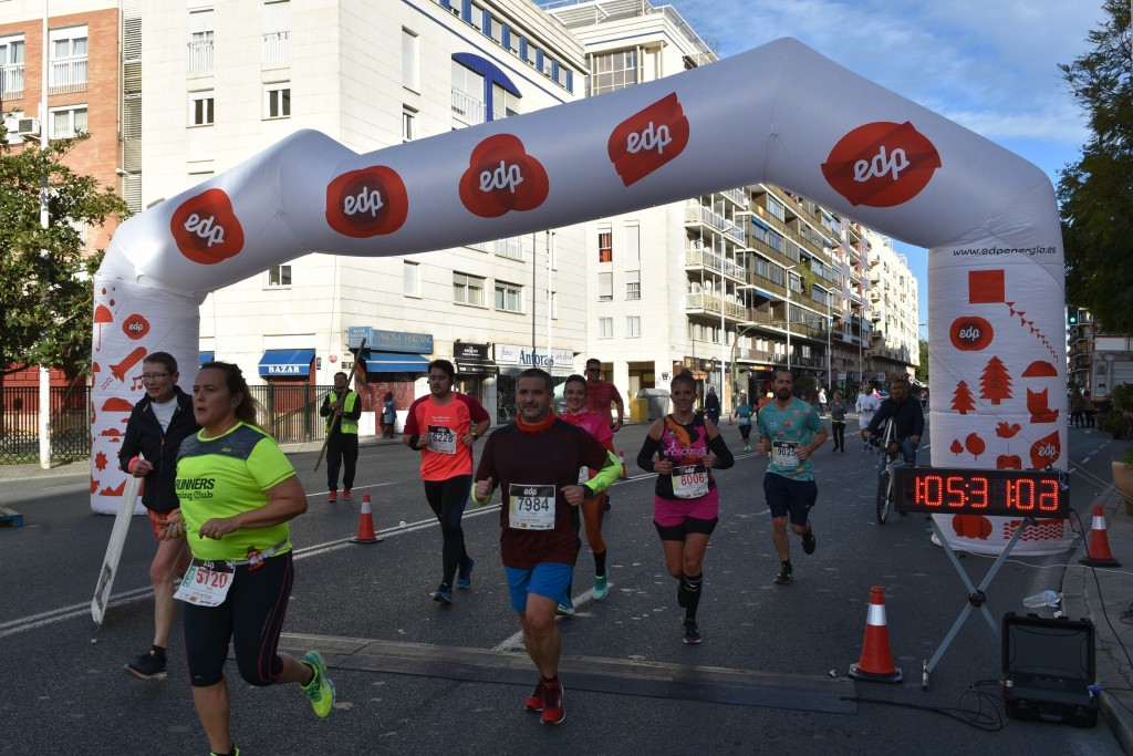 Paso por los 10km (Foto: SportManiacs)