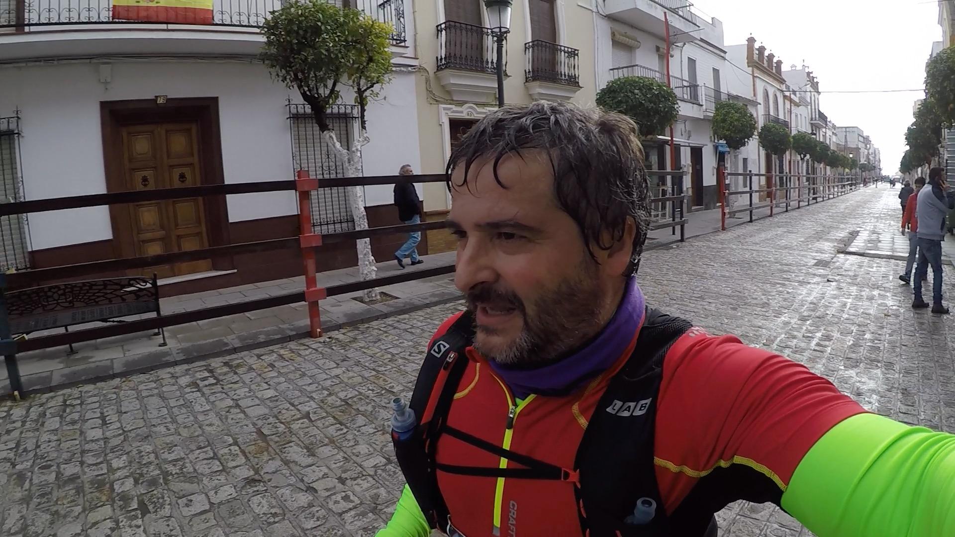 Últimos metros por las calles de La Puebla del Río