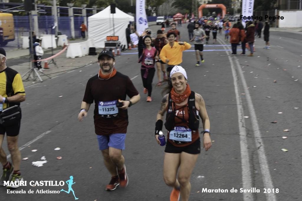 Paso por medio maratón (Foto: Footing Pepito)